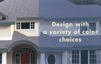Design with a variety of color choices